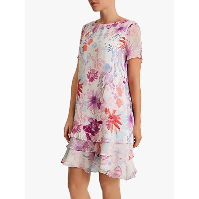 Fenn Wright Manson Petite Flinty Dress, Multi