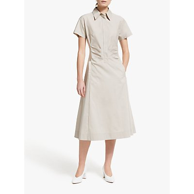 Winser London Cotton Poplin Midi Dress