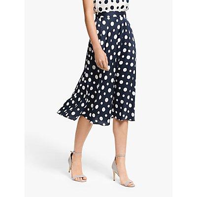 Winser London Satin Polka Dot Skirt