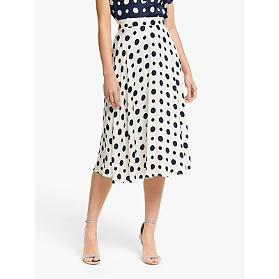 Winser London Satin Polka Dot Skirt
