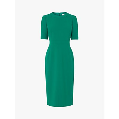 L.K.Bennett Fitted Shift Dress, Malachite