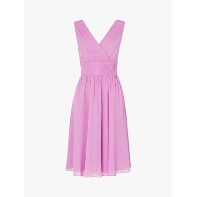 L.K.Bennett Lori Bridesmaid Dress, Purple