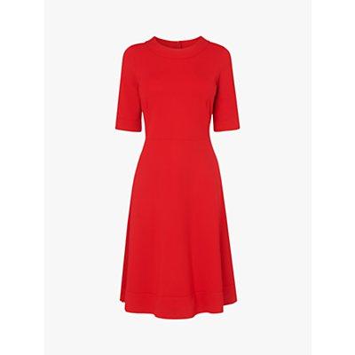 L.K.Bennett Ivelina Jersey Dress, Red