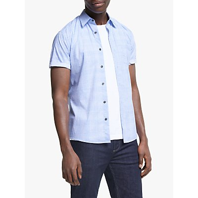 Tiger of Sweden Fonzo Check Short Sleeve Shirt