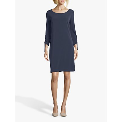 Betty Barclay Round Neck Jersey Dress, Dark Sky