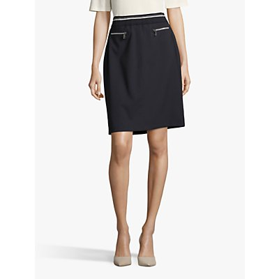 Betty Barclay Sporty Pencil Skirt, Dark Sky