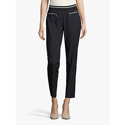 Betty Barclay Sporty Trousers, Dark Sky