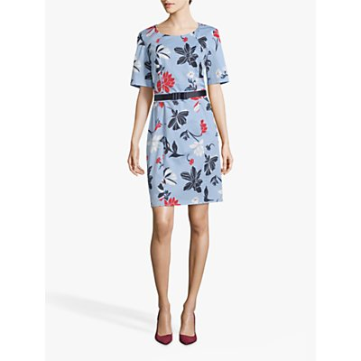 Betty Barclay Floral Print Dress, Multi