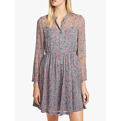 French Connection Fifine Crinkle Dress