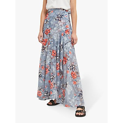 French Connection Cateline Maxi Skirt, Summer Surf