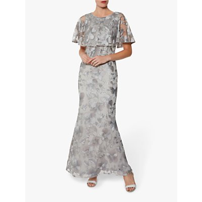 Gina Bacconi Darby Embroidered Maxi Dress