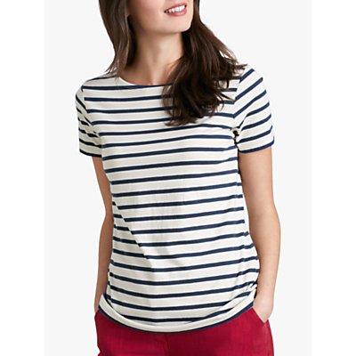 Seasalt Sailor Stripe Short Sleeve Jersey Top