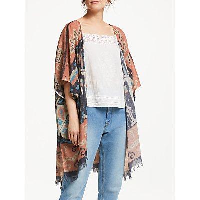Star Mela Ritika Print Kimono, Multi