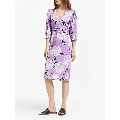 Gestuz Gwin Dress, Purple Flower
