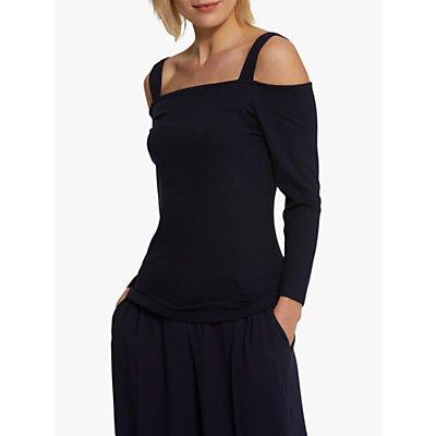 Helen McAlinden Celine Strap Sleeve Jersey Top