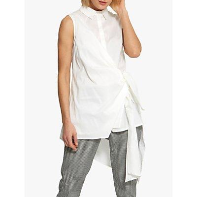 Helen McAlinden Orla Wrap Detail Shirt, White