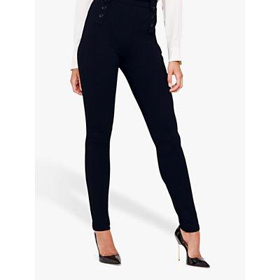 Damsel in a Dress Cammie Skinny Fit Ponte Trousers, Navy