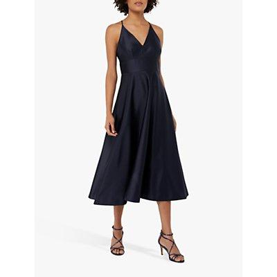 Monsoon Abbey Satin Midi Dress