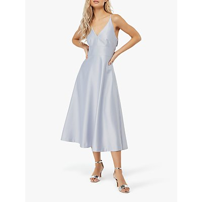 Monsoon Abbey Satin Midi Dress