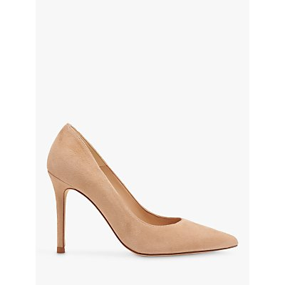 L.K.Bennett Fern Court Shoes, Beige Suede