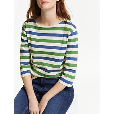Seasalt Sailor Stripe 3/4 Length Sleeve Jersey Top
