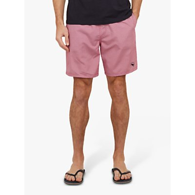 Ted Baker Seel Swim Shorts, Mid Pink