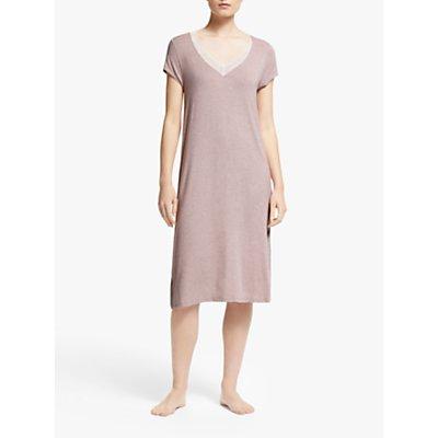 John Lewis   Partners Mia Midi Jersey Nightdress - 5057618817877
