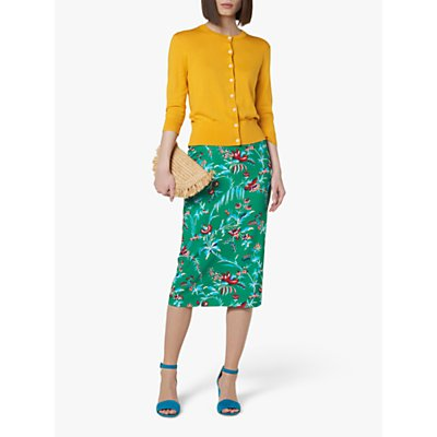 L.K.Bennett Rose Pencil Skirt, Green
