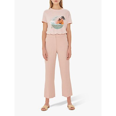 Gerard Darel Niame Tailored Trousers, Pink