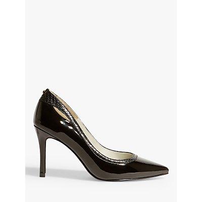 Karen Millen Patent Cut-Out Stiletto Heel Court Shoes