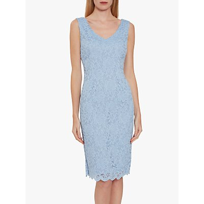 Gina Bacconi Giovanna Lace Shift Dress