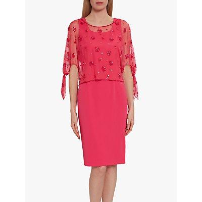 Gina Bacconi Emiko Lace Overlay Dress