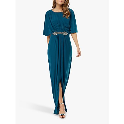 Monsoon Celeste Maxi Dress, Teal