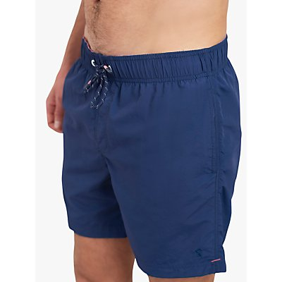 Joules Heston Swim Shorts, Dark Blue