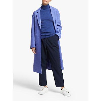 John Lewis & Partners Wool Blend Wrap Boucle Textured Coat