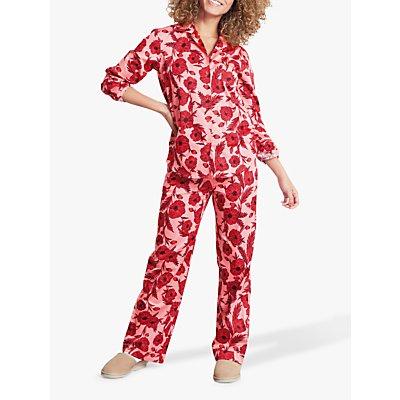 hush Poppy Cotton Pyjama Set - 5057603036627