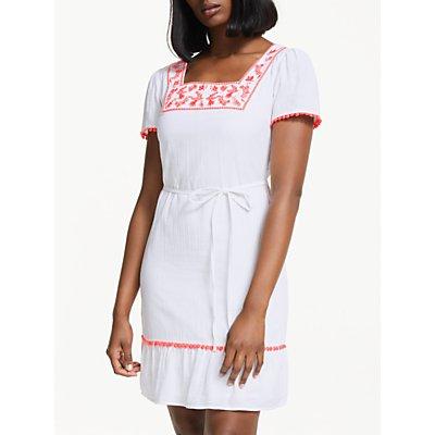 Boden Bernadette Embroidered Dress