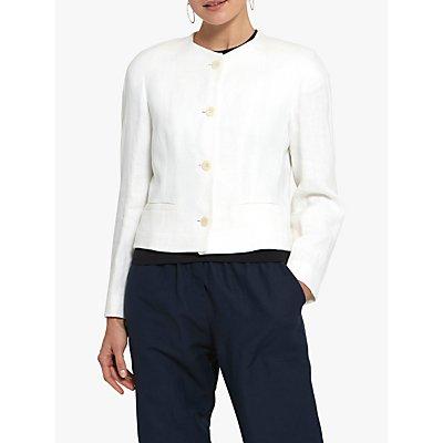 Helen McAlinden Melody Linen Jacket, Cream