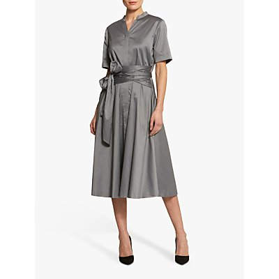 Helen McAlinden Judy Grandad Collar Shirt Dress
