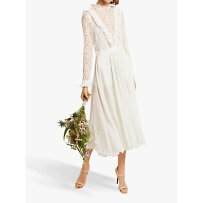 French Connection Clandre Lace Jumpsuit, Summer White