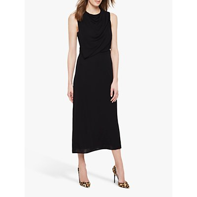Damsel in a Dress Adaryn Cowl Neck Maxi Dress, Black