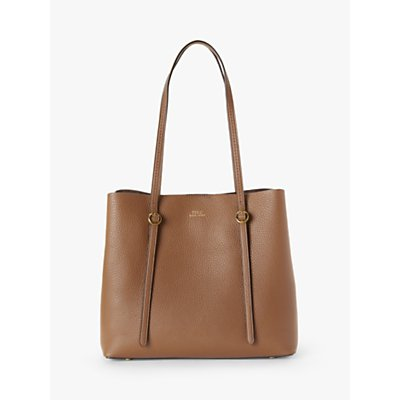 Polo Ralph Lauren Lennox Leather Tote Bag