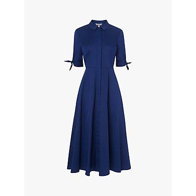 L.K.Bennett Darly Shirt Dress, Royal Blue