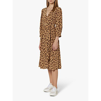 L.K.Bennett Roman Wrap Dress, Animal