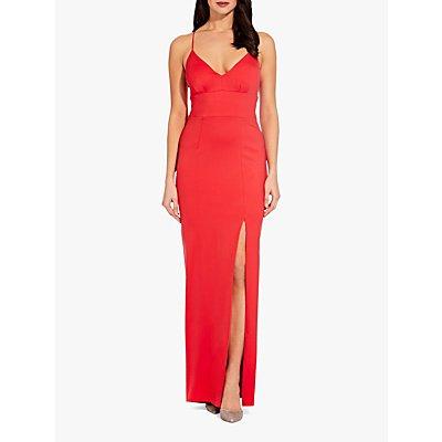 Adrianna Papell Lola Jersey Dress, Hot Tomato