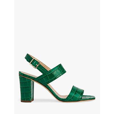 L.K.Bennett Rhiannon Croc Sandals