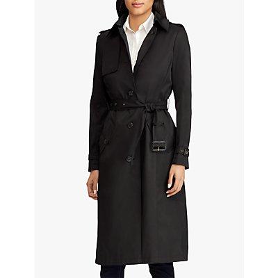 Lauren Ralph Lauren Max Trench Coat, Black