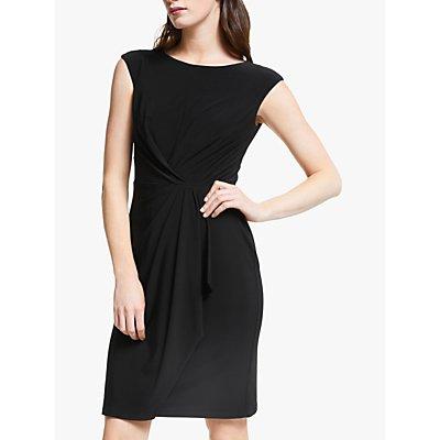 Lauren Ralph Lauren Cap Sleeve Jersey Dress, Black