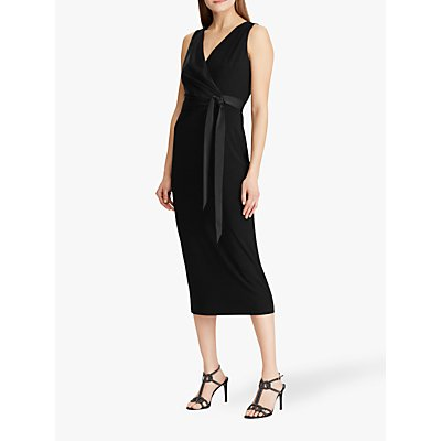 Lauren Ralph Lauren Timi Sleeveless Cocktail Dress, Black