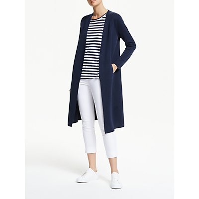 Winser London Milano Wool Soft Coat, Midnight Navy